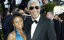 Morgan Freeman with his granddaughter Edena Hines. She was stabbed to death in New York on 16 August 2015. Picture: Edena Hines/Facebook.