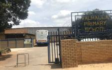 The Valhalla Primary School in Centurion where a teacher has been accused of sexually abusing learner. Picture: Thando Kubheka/EWN.