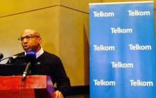 Telkom CEO Sipho Maseko. Picture: Masego Rahlaga/EWN.
