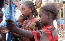 Orphans in Ethiopia.