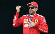 Ferrari driver Sebastian Vettel in Melbourne on 14 March 2019, ahead of the Australian Formula One Grand Prix. Picture: AFP