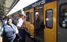 Metrorail train. Picture: EWN
