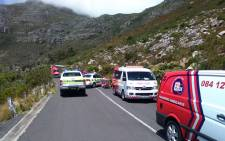 FILE: ER24's Werner Vermaak said the vehicle was found hanging from a tree and two people were declared dead on the scene. Picture: ER24.