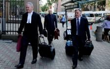 Advocate Barry Roux arrives at the High Court in Pretoria on 7 April 2014. Picture: Sebabatso Mosamo/EWN.