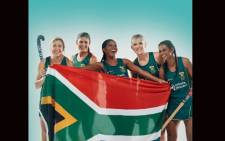 SA Women's Hockey team members. Picture: @sawomenshockey/twitter.