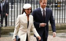FILE: Meghan Markle and Prince Harry. Picture: Supplied.