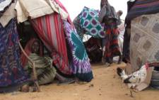 Hodan refugee camp in Southern Mogadishu. Picture: Nastasya Tay /EWN