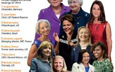 World's most powerful women: Forbes magazine's annual rankings for 2014. Picture: AFP