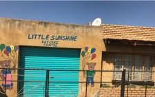 FILE: Bohlale Mokoena died at the Little Sunshine Daycare Centre earlier this month, allegedly under suspicious circumstances. Picture: Masego Rahlaga/EWN.