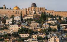 FILE:  The neighbourhood of Silwan, just outside the Old City in east Jerusalem, on November 9, 2020. Picture: AFP