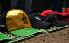 FILE: ANC caps sold on the sidelines of the Mangaung Conference. Picture: Aletta Harrison/EWN.