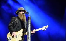 FILE: Member of the US band ZZ Top, Dusty Hill, performs on the stage during the 28th Eurockeennes rock music festival on 3 July 2016 in Belfort, eastern France. Picture: Sebastien Bozon/AFP