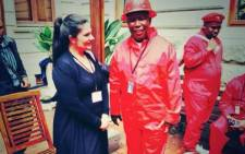 FILE: EFF leader Julius Malema dressed in red overalls and black gumboots for the first sitting of the National Assembly on 21 May 2014. Picture: Giovanna Gerbi/EWN.