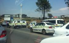 There has been a shooting on the N1 north towards Pretoria where police fired shots from a helicopter on 30 October 2014. Picture: EWN.