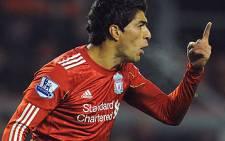 Volatile Uruguayan striker Luiz Suarez. Picture: AFP