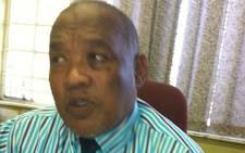 John Bisseker Secondary School principal Aubrey Lackay. Picture:EWN