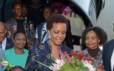President Robert Mugabe's wife, Grace. Picture: GCIS.