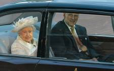 Queen Elizabeth and Prince Philip attended the opening ceremony of the 2014 Commonwealth Games. Picture: Sascoc