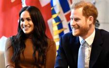 FILE: The Duke and Duchess of Sussex visited Canada House, the home of Canada's High Commission in London on 7 January 2020. Picture: Twitter@RoyalFamily