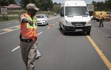 FILE: The N3 Toll Concession, working with other organisations and law enforcement officers, near Mooi River Plaza. Picture: Sethembiso Zulu/EWN