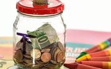 Piggy bank savings coins cash money