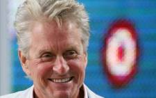 FILE:US actor Michael Douglas attends Canal Plus TV program Le Grand Journal on May 15, 2010 in Cannes, at the 63rd Cannes Film Festival. Picture: AFP.