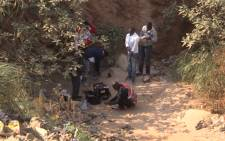 FILE: Traditional ceremony held for trapped illegal miners. Picture: Kgothatso Mogale/EWN.