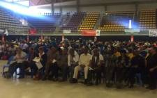 Members of the public gather at the University of Johannesburg Soweto Campus to intensify calls for the President Jacob Zuma's resignation. Picture: Dineo Bendile/EWN.