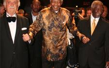 George Bizos, Nelson Mandela and Thabo Mbeki. Picture: Supplied.
