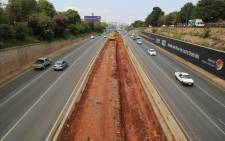 The Johannesburg Roads Agency is undertaking essential maintenance on the M1 freeway between Killarney and Crown Interchange. Picture: Christa Eybers/EWN.