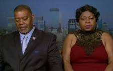 Philando Castile's mother and uncle speaks out after his death.  Picture: CNN