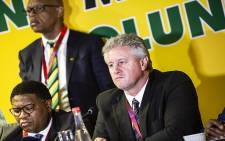 Agri SA President Dan Kriek addresses the media on 7 September 2018. Picture: Kayleen Morgan/EWN