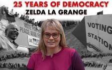 EWN reporter Carien Du Plessis sat down with Zelda la Grange to reflect on the past 25 years of democracy.