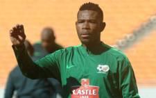 FILE: Bafana Bafana skipper Thulani Hlatshwayo. Picture: @Safa_Net/Twitter