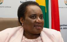 Minister of Labour Mildred Oliphant. Picture: GCIS.