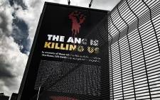 A billboard in Johannesburg's city centre unveiled by the DA on 16 January. Picture: Kayleen Morgan/EWN