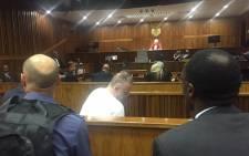 Radovan Krejcir in court during sentencing proceedings on 22 February 2016. Picture: Gia Nicolaides/EWN.