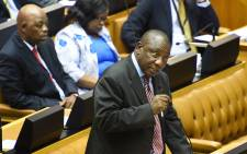 Deputy President Cyril Ramaphosa in Parliament. Picture: GCIS.