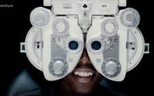 20-year-old Philani Twala underwent a double corneal transplant operation a few months ago. Picture: Sterkinekor