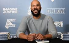 Oscar-winning rapper-turned-actor Common at the launch of his new memoir 'Let Love Have the Last Word'. Picture: @thinkcommon/Facebook.com.