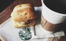 FILE: Starbucks' spicy chorizo breakfast sandwich. Picture: @Starbucks.