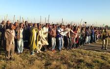 FILE: The army and police have been deployed in Marikana as fears of more violence remain. Picture: Vumani Mkhize/EWN.