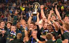 The Junior Springboks celebrate their IRB Junior World Championship victory