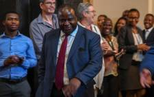 Finance Minister Tito Mboweni. Picture: @TreasuryRSA/Twitter