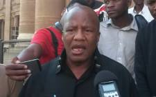 FILE: Newly appointed ANC Chief Whip Jackson Mthembu. Picture: Reinart Toerien/EWN.