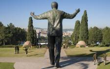 FILE: The statue of Nelson Mandela during a Freedom Day event held at the Union Buildings in Pretoria on 27 April 2014. Picture: Supplied.