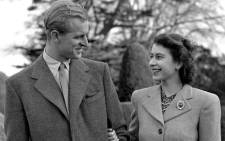 Britain's Princess Elizabeth (future Queen Elizabeth II) and Prince Philip, the Duke of Edinburgh, on their honeymoon at Broadlands in Hampshire in 1947. Picture: Instagram/theroyalfamily