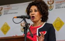 Minister of Human Settlements Lindiwe Sisulu. Picture: Lindiwe Sisulu Facebook page.