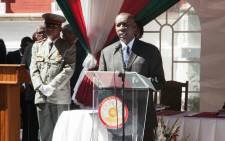 Madagascar's former Prime Minister Olivier Mahafaly. Picture: AFP