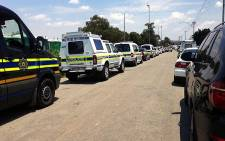 FILE: The police's Kay Makhubela says police have been deployed to the area to monitor the situation. Picture: Gia Nicolaides/EWN